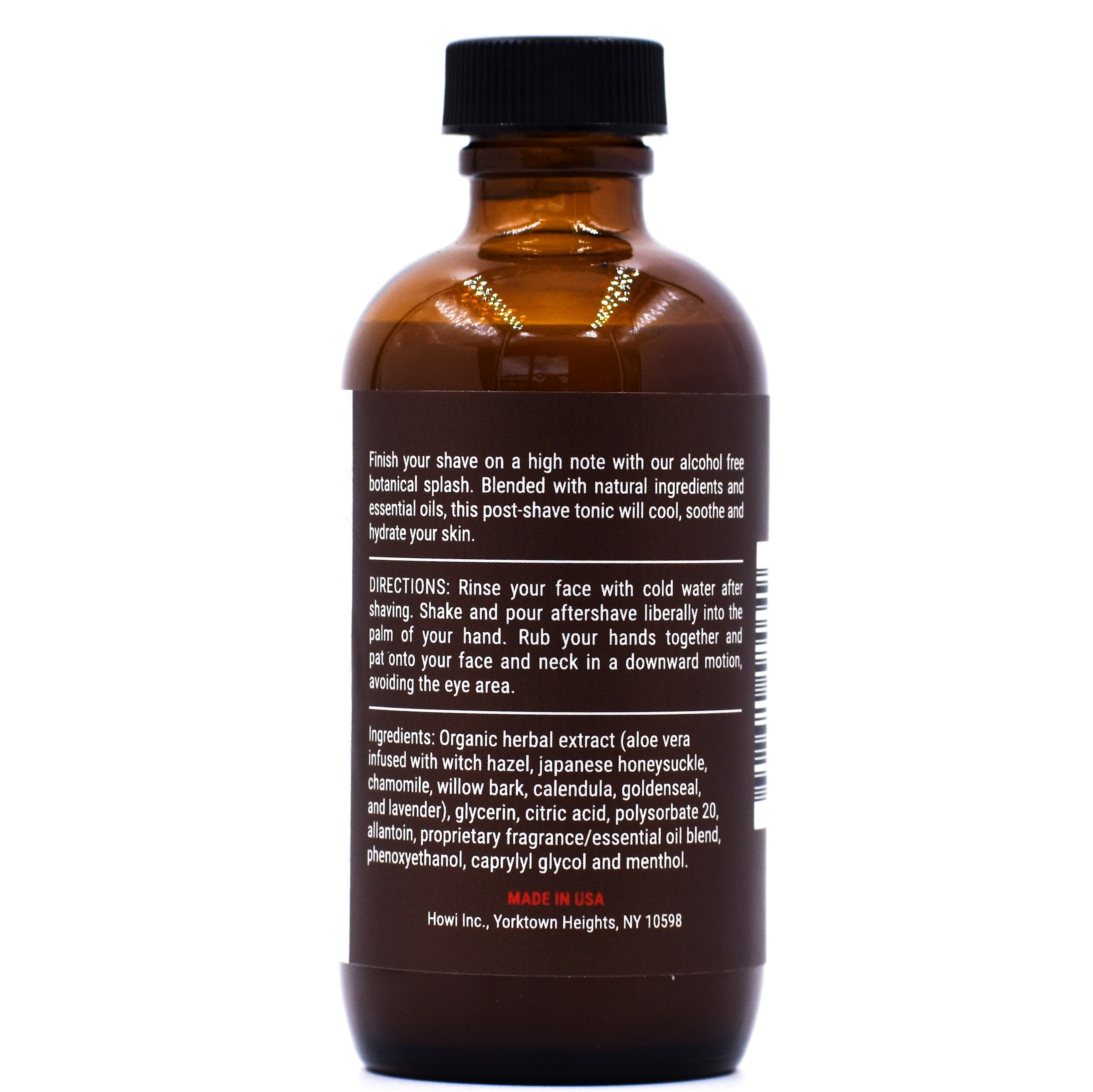 Bay Rum Botanical Aftershave Splash